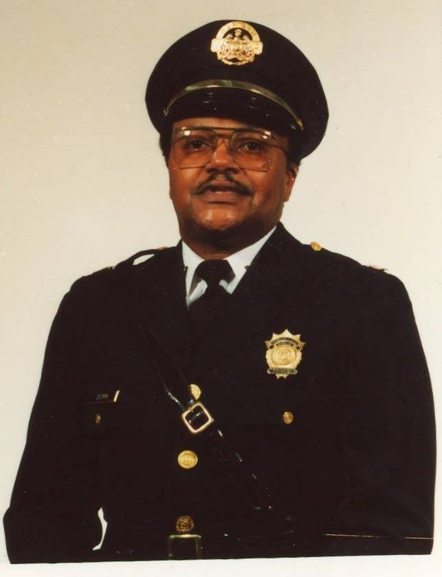 An undated photo of David Dorn in his police uniform