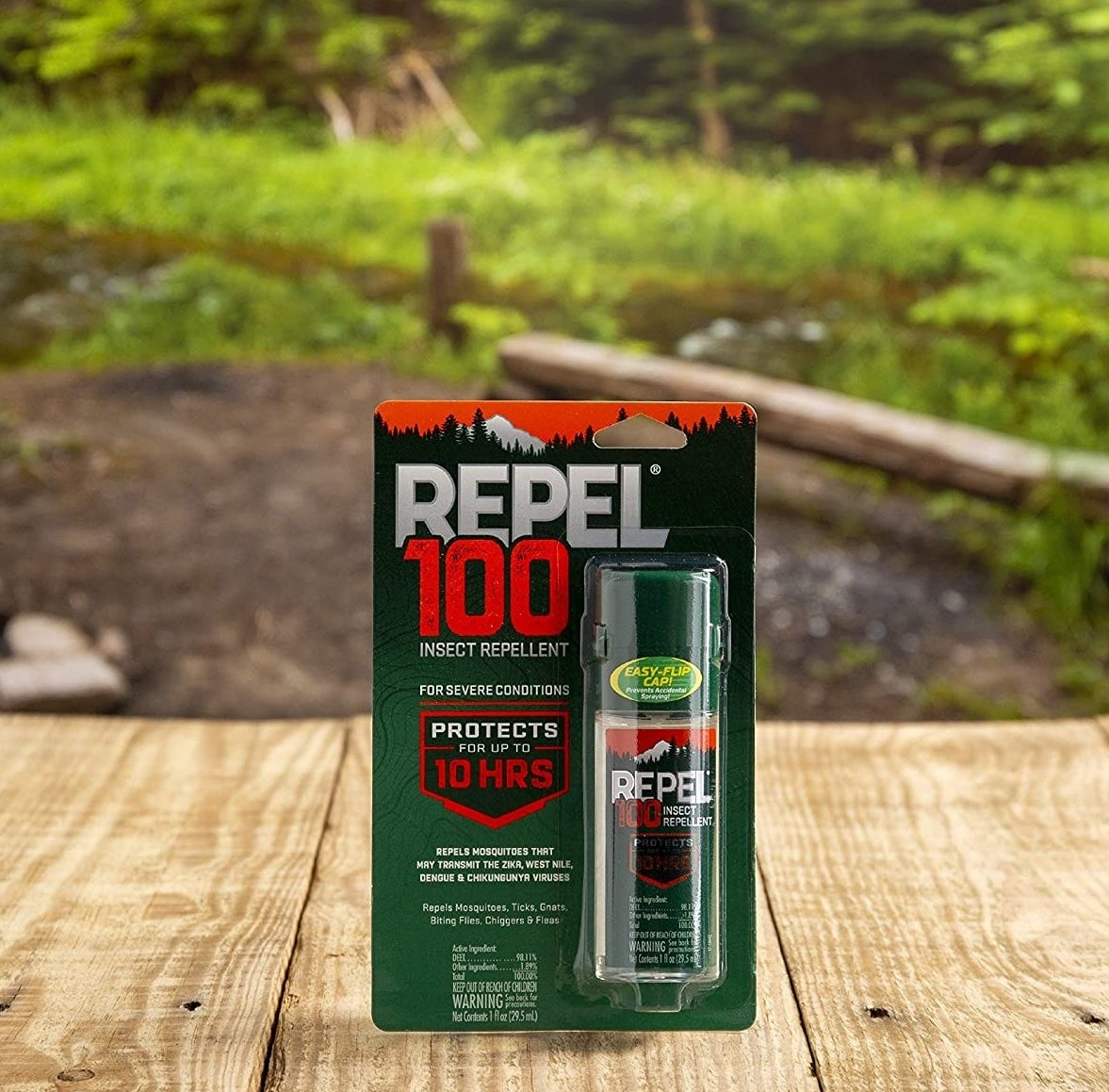 Repel 100 pump spray insect repellent