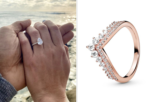 What Will Your Engagement Ring Look Like Based On The Pandora Jewelry You Choose?