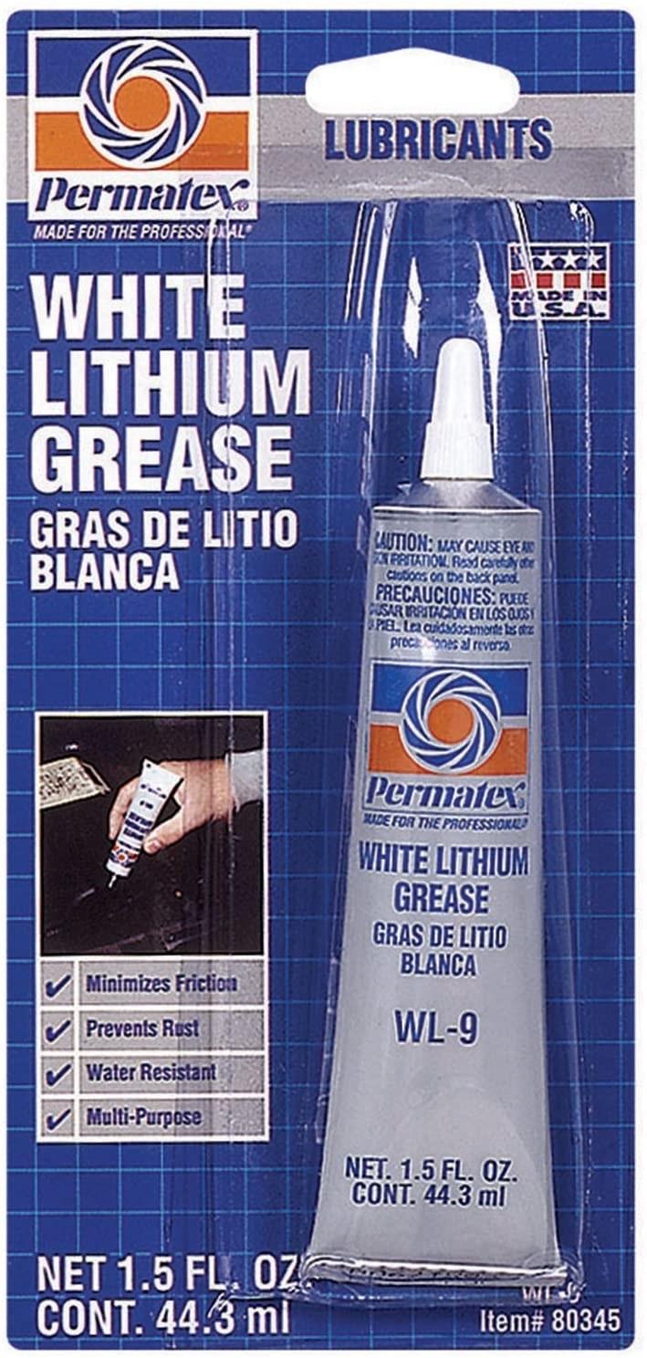 tube of white lithium grease