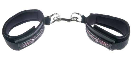 the velcro cuffs with soft padding on inside
