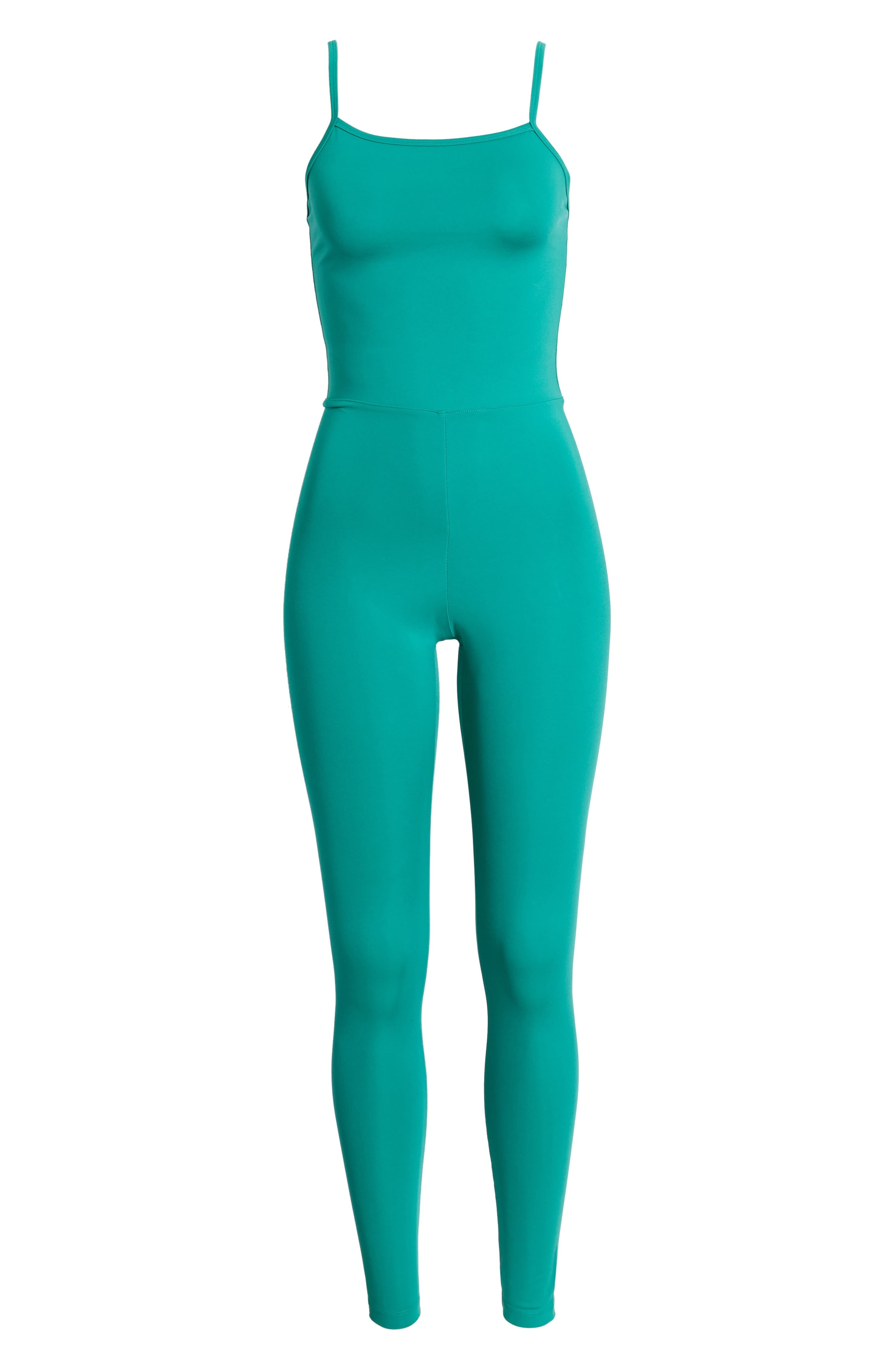 green tank jumpsuit