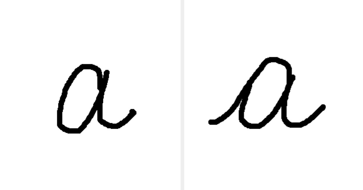 Everyone Writes These Letters In Cursive Differently — What's The Correct Way To Write Them?