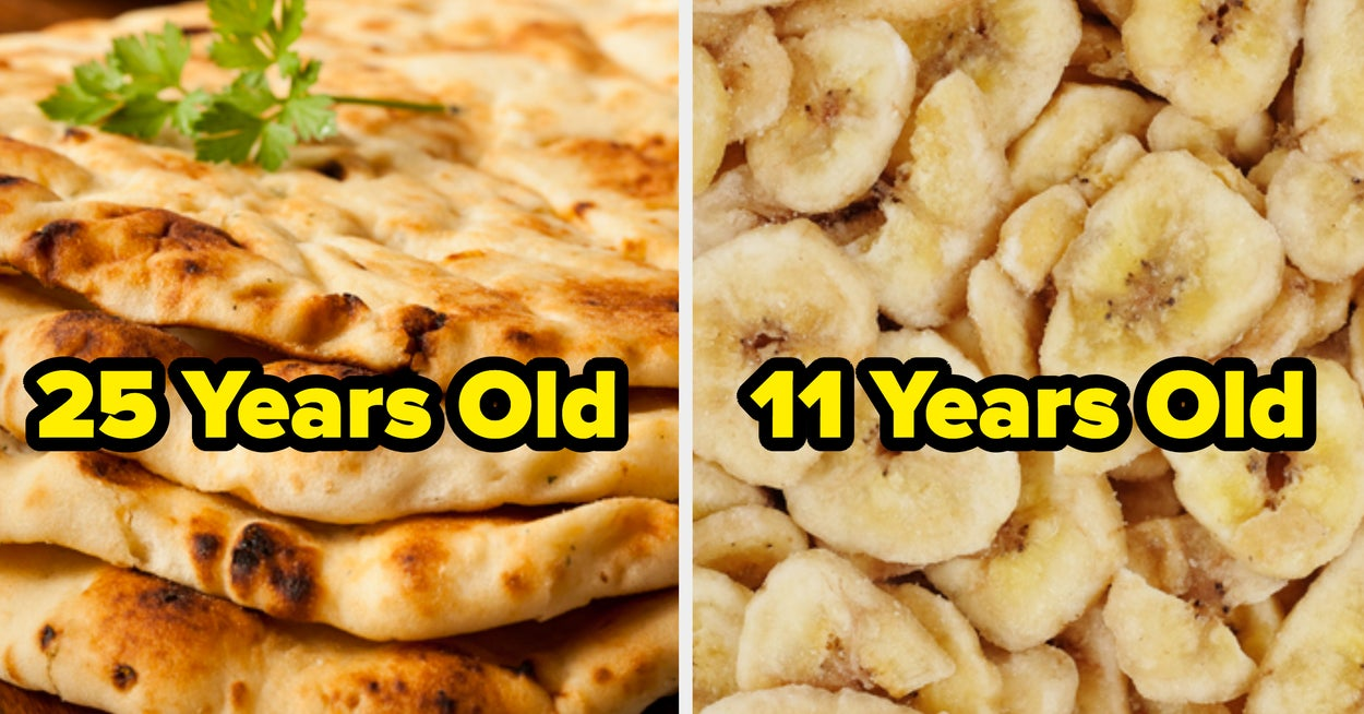 Choose Either Chewy Or Crunchy Indian Foods And We'll Accurately Guess Your Age