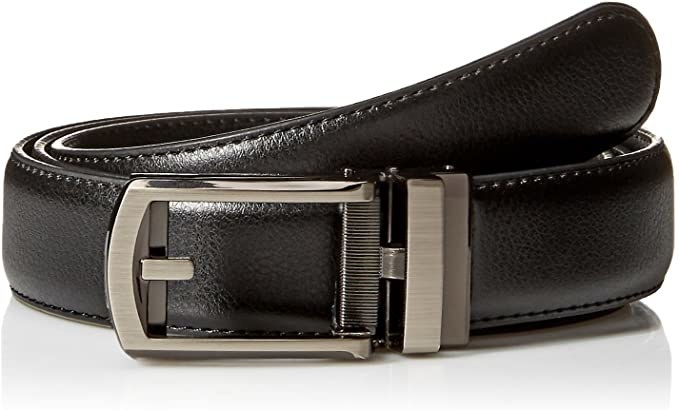 The belt in black