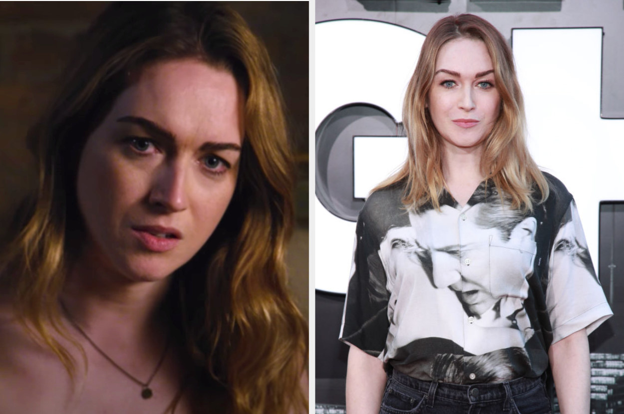 Side by side of Nomi from Sense8 and Jamie Clayton