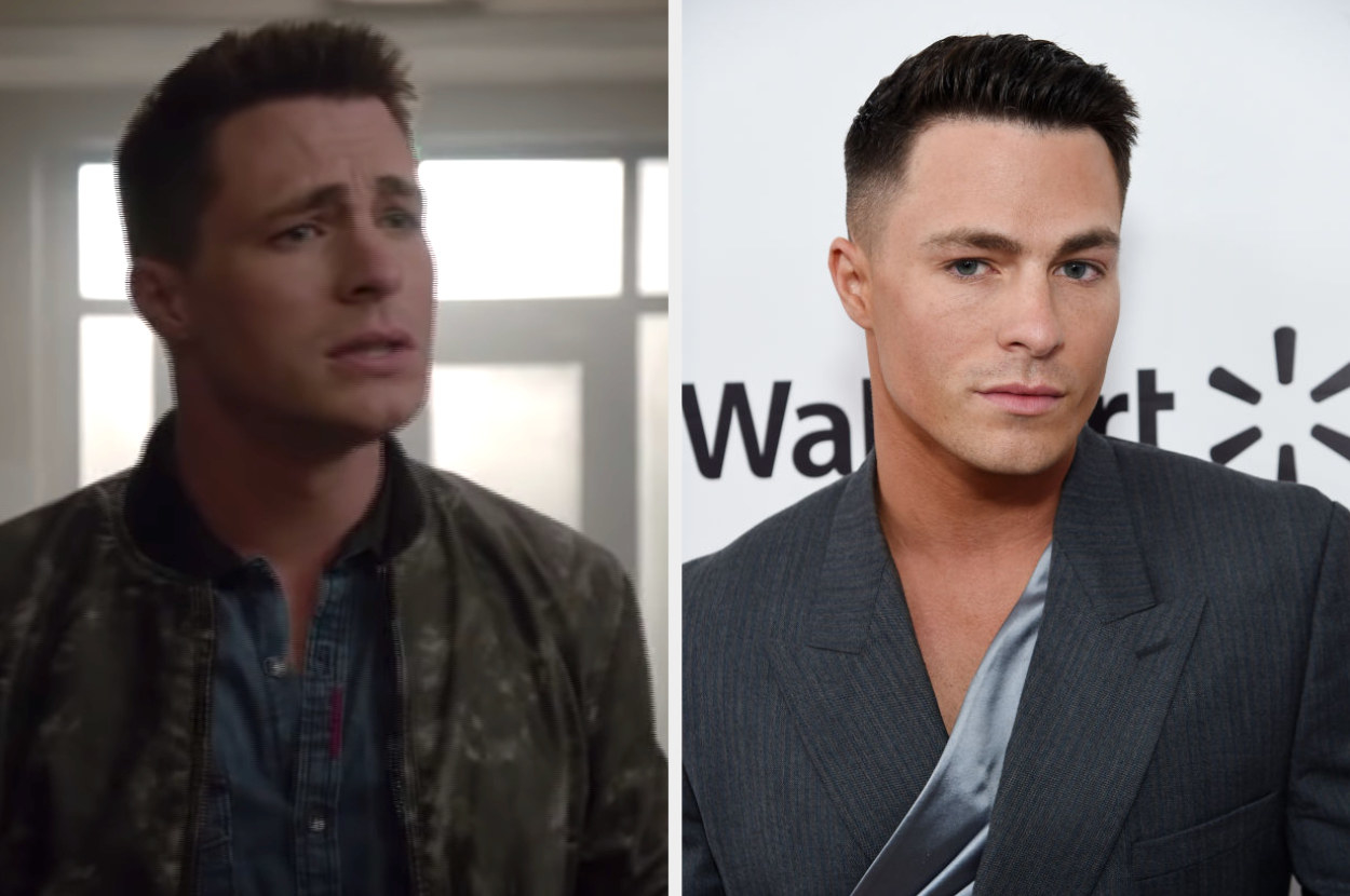Side by side of Jackson Whitmore from Teen Wolf and Colton Haynes