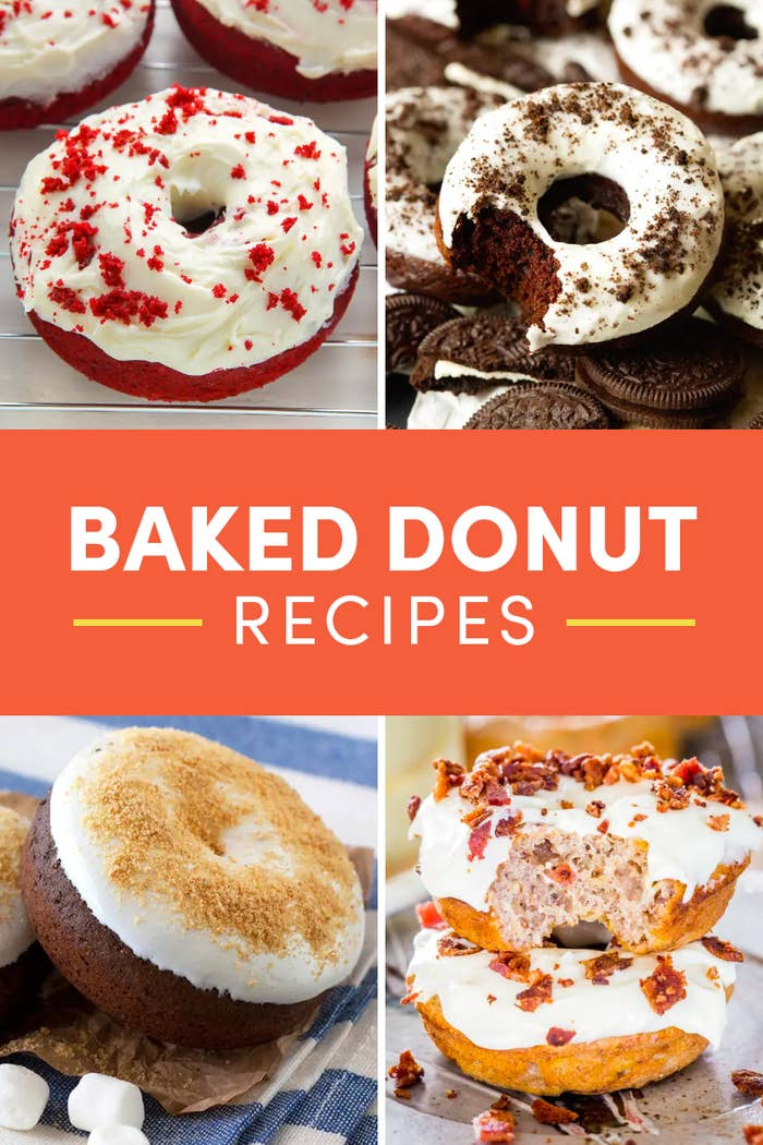 Easy Baked Donut Recipes That Taste Even Better Than Fried