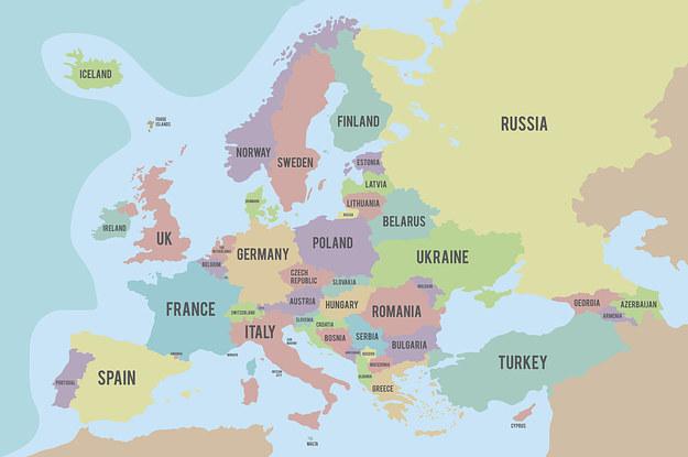 Guess European Countries