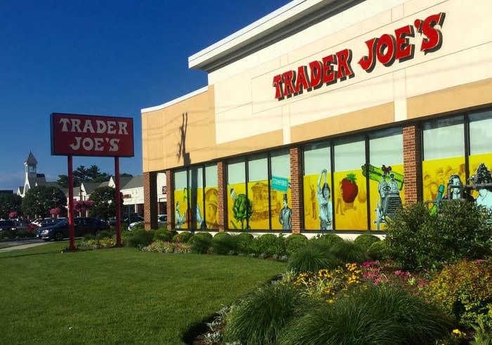 A suburban Trader Joe's store.