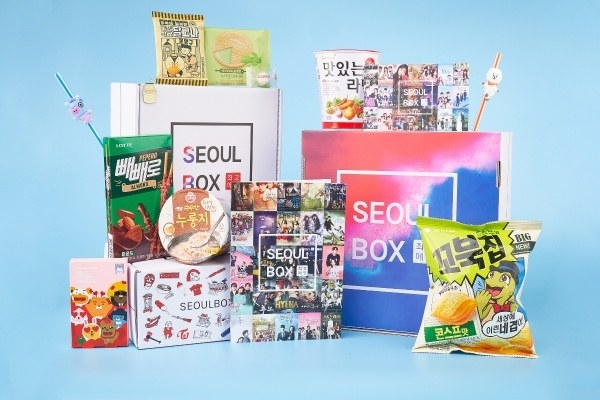 The Seoul deluxe and signature boxes