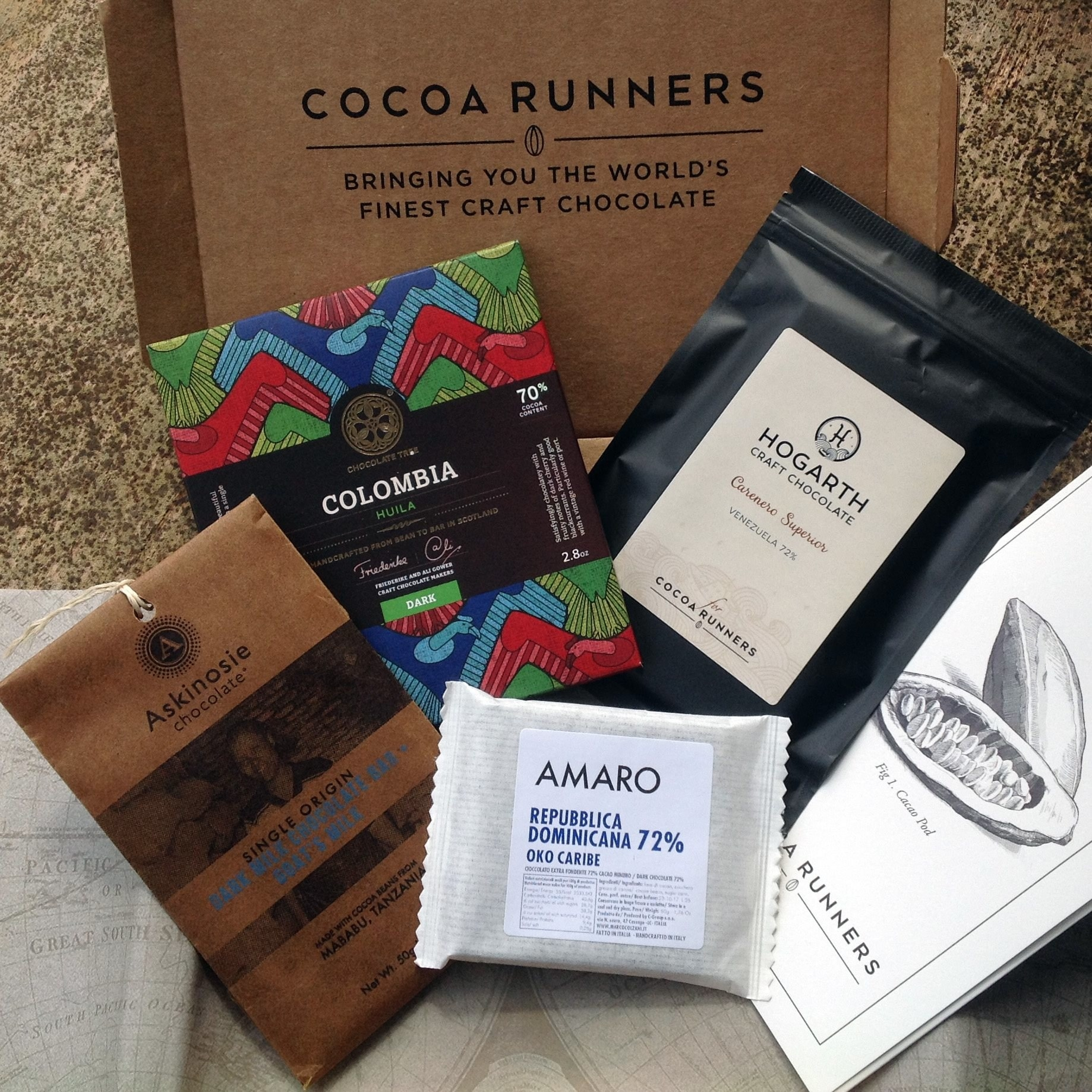 The Cocoa Runners box