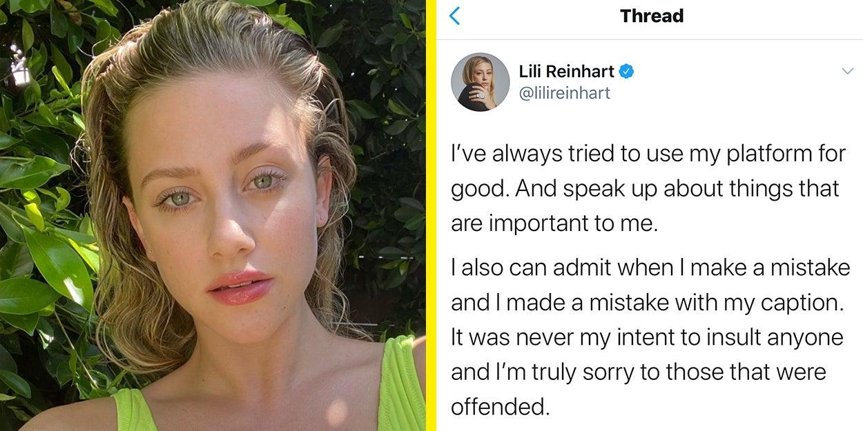 Reinhart naked lili Lili Reinhart