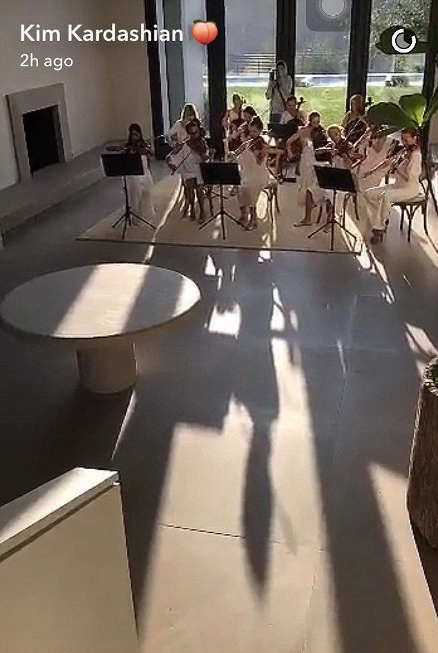 An orchestra in their living room