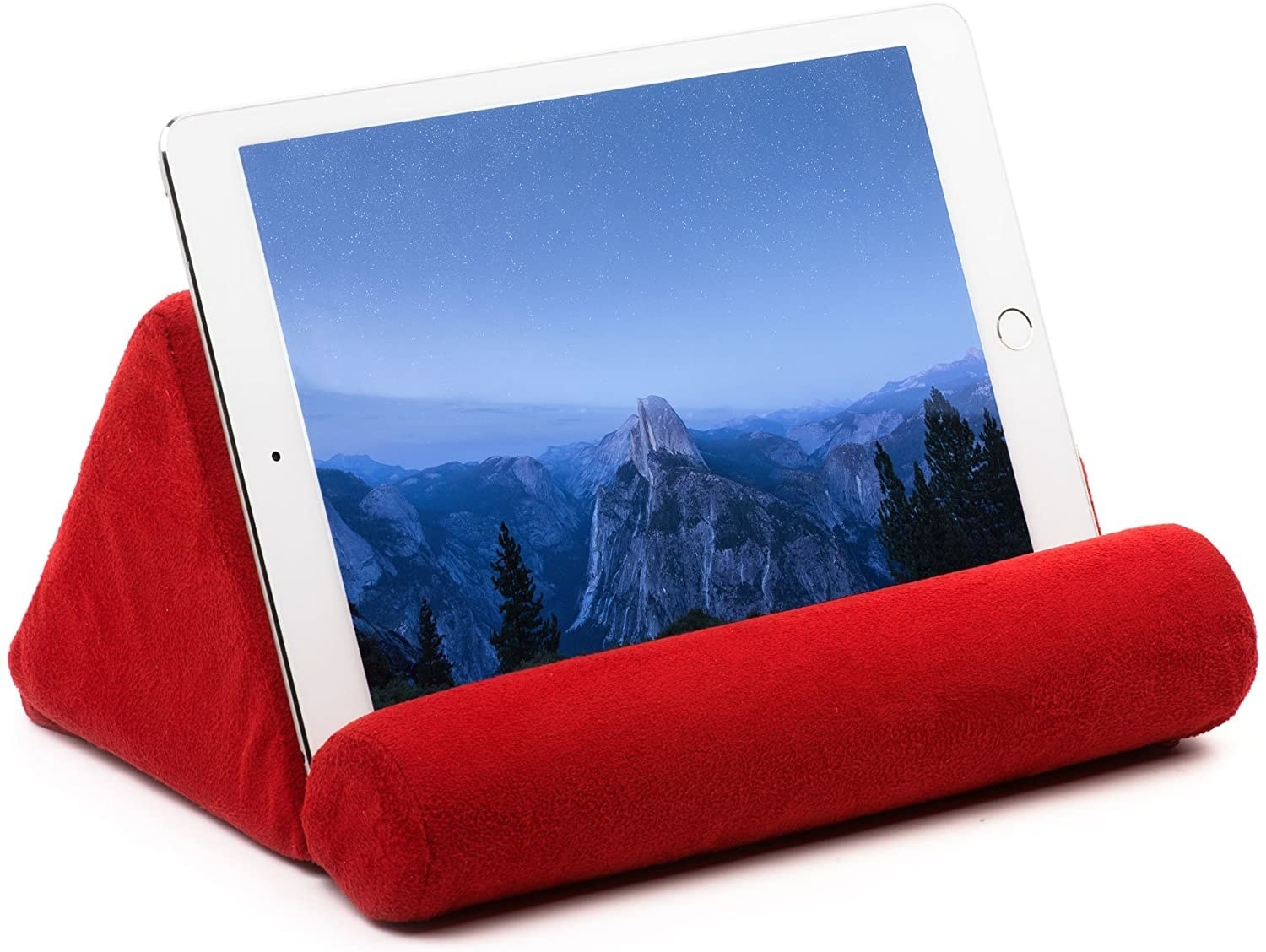 pillow that acts as a tablet or book stand