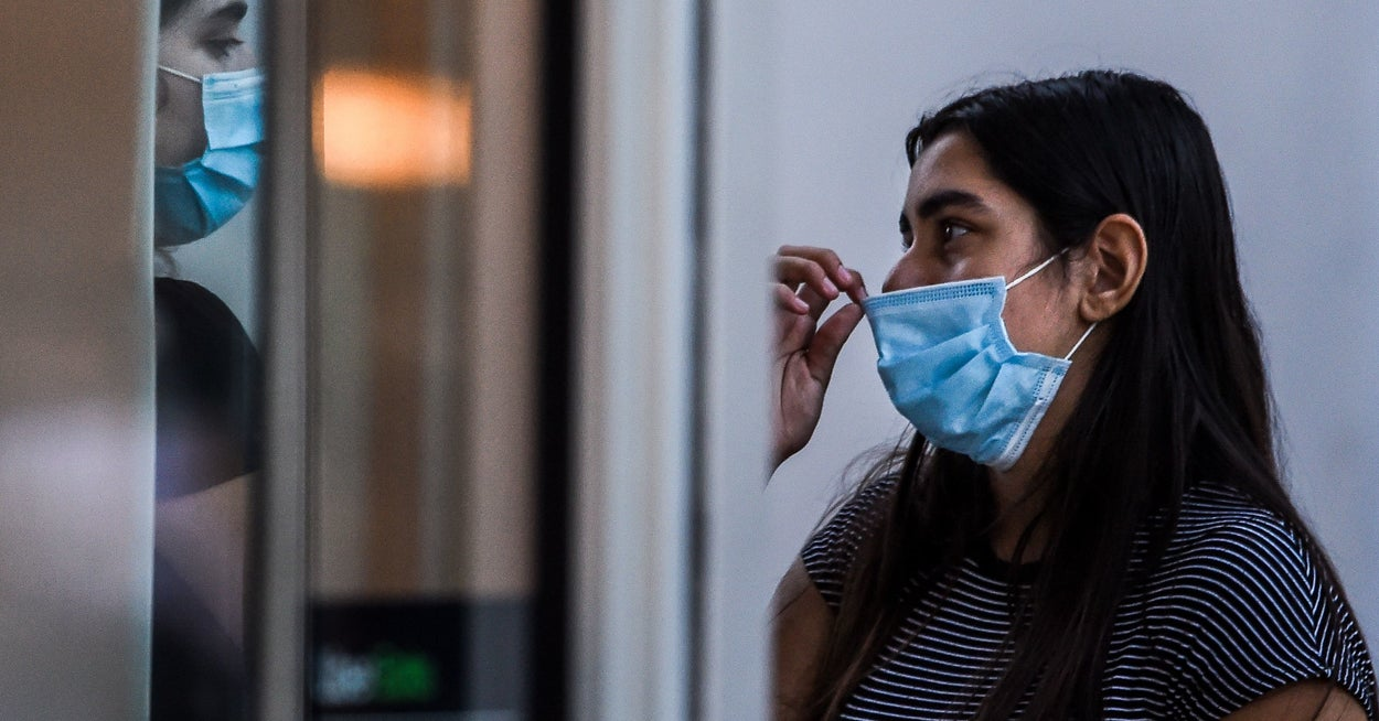 Maybe Think Twice Before Shaming Someone Not Wearing A Face Mask