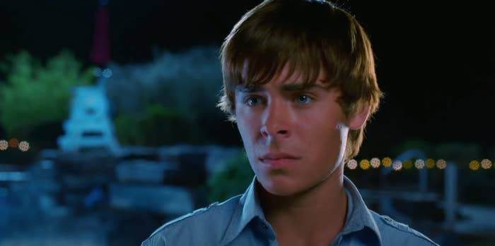 Troy looks at Gabriella with the saddest eyes ever