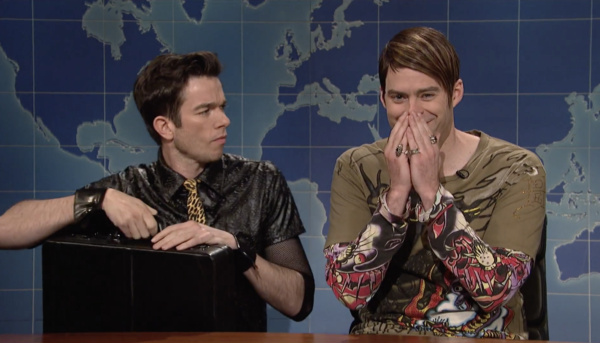 "Mulaney and Hader on ""Weekend Update"""