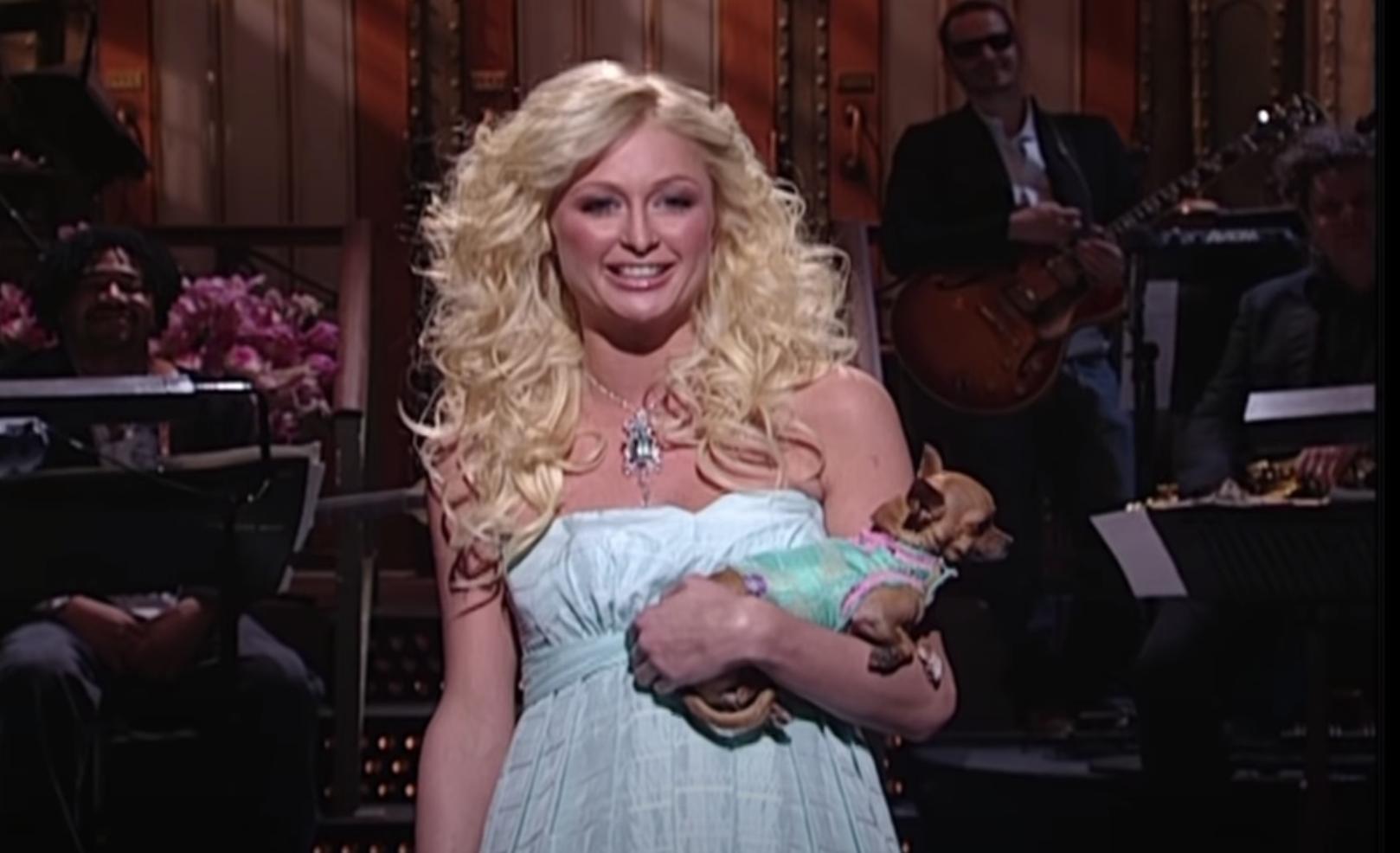 "Paris Hilton hosting ""SNL"""