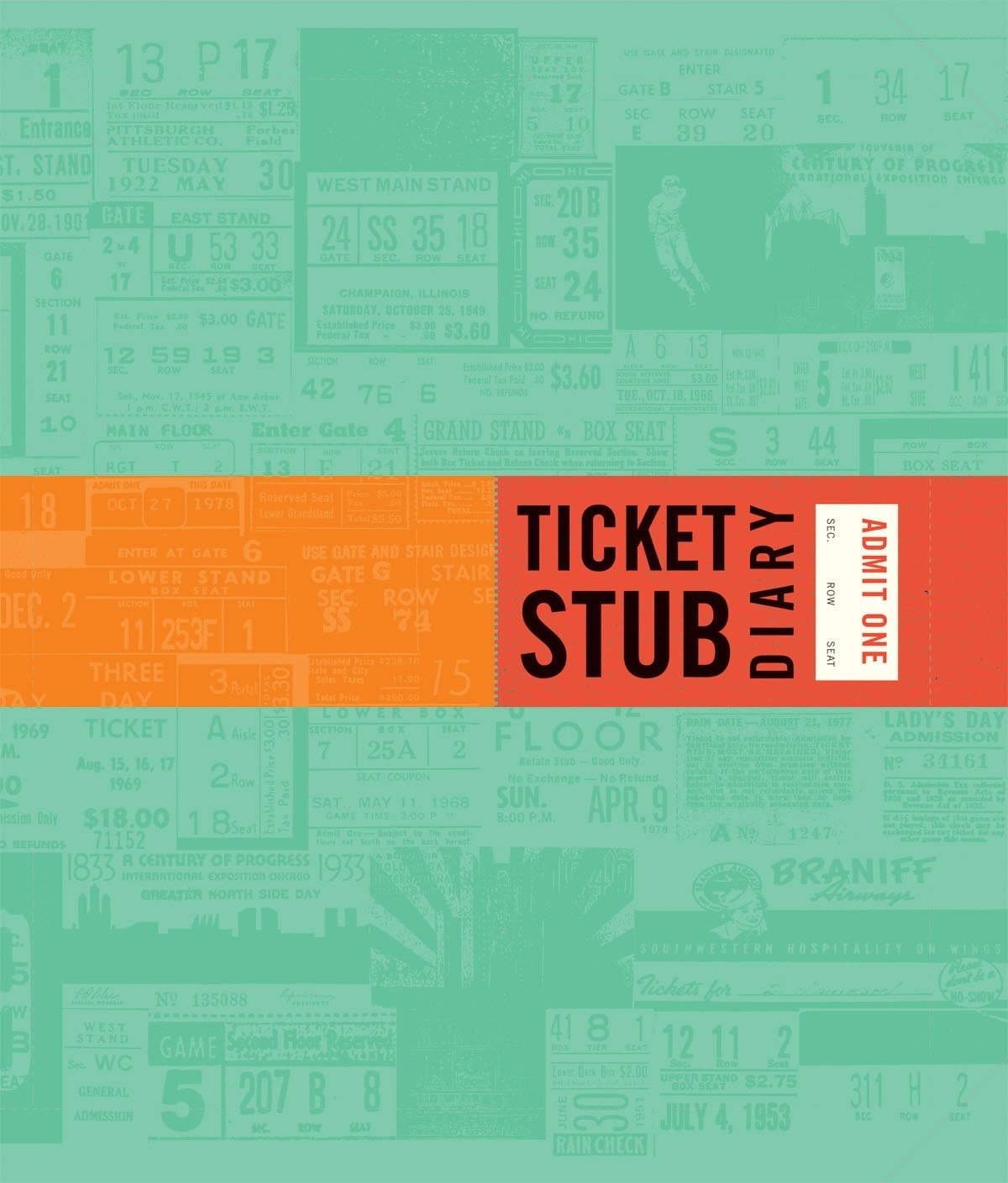 The ticket stub book