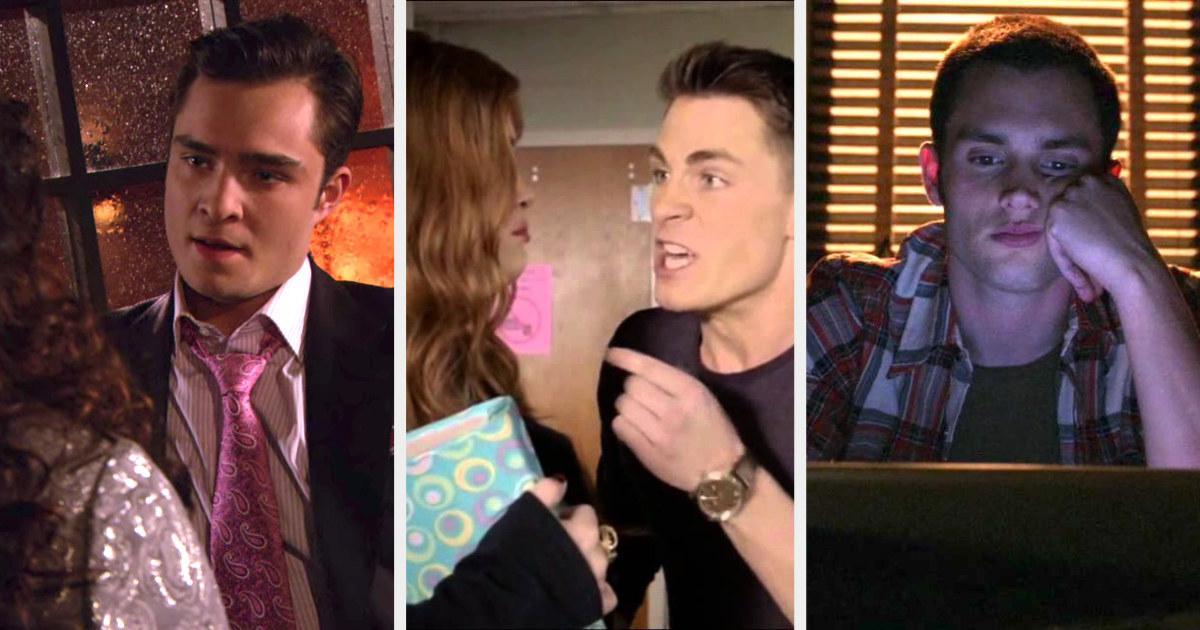 Chuck on Gossip Girl, Jackson on Teen Wolf, and Dan on Gossip Girl