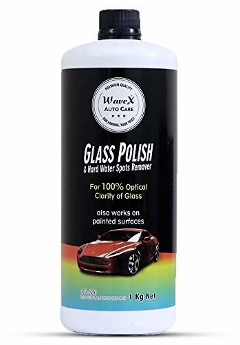 A bottle of Wave X glass polish