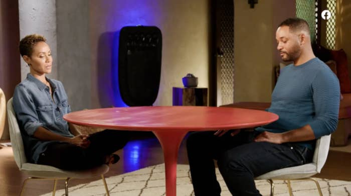 Will and Jada Pinkett Smith on Red Table Talk