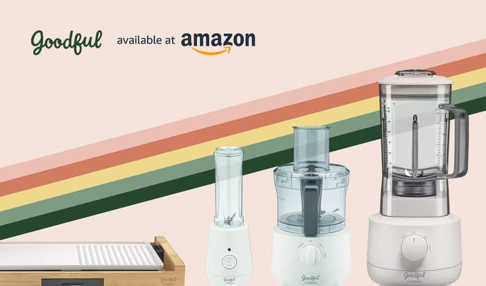 Goodful appliances for the kitchen available at Amazon