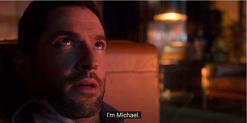 Tom Ellis as Michael