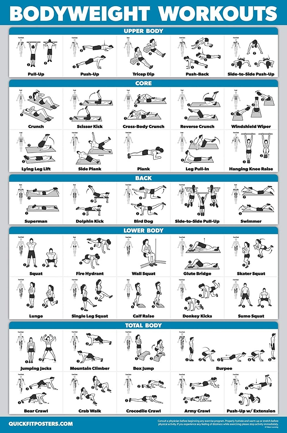 The bodyweight poster