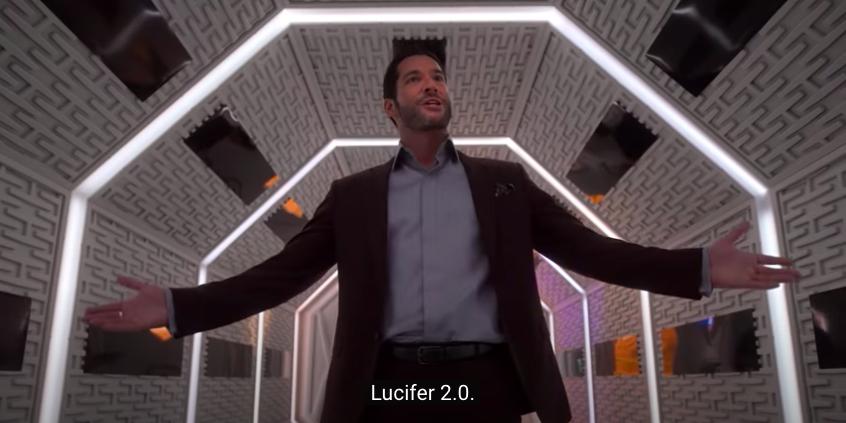 Michael saying he's Lucifer 2.0