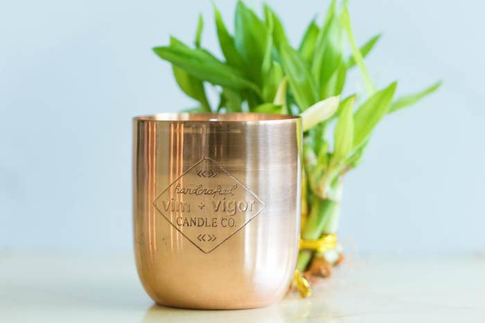 the copper candle
