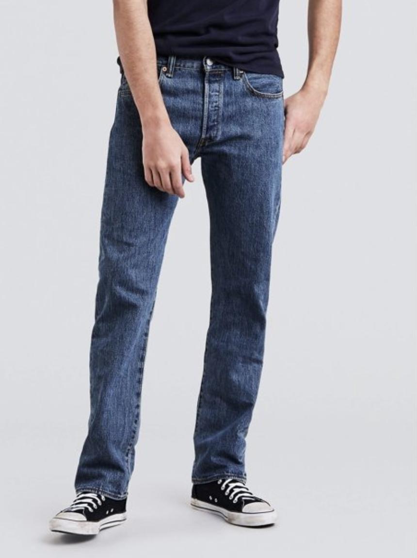 A model in jeans