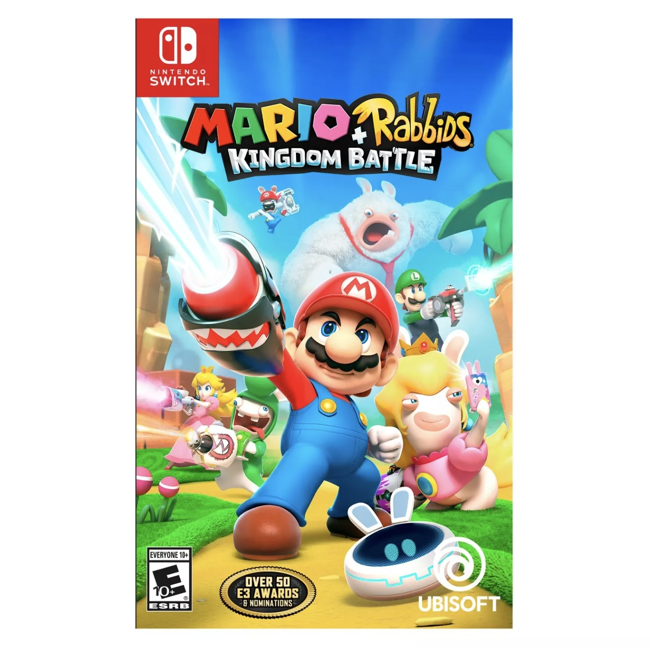 Cover art for Mario and Rabbids Kingdom Battle