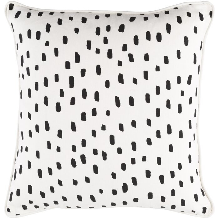 Glenwood Dalmatian print throw pillow