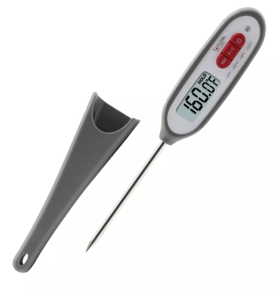 The digital meat thermometer