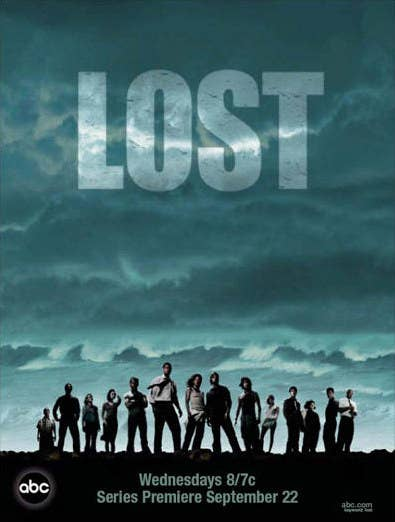 Lost Season 1 poster