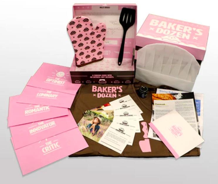 The Hunt A Killer: Baker's Dozen box.