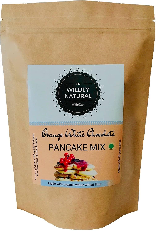 Packaging of the pancake mix