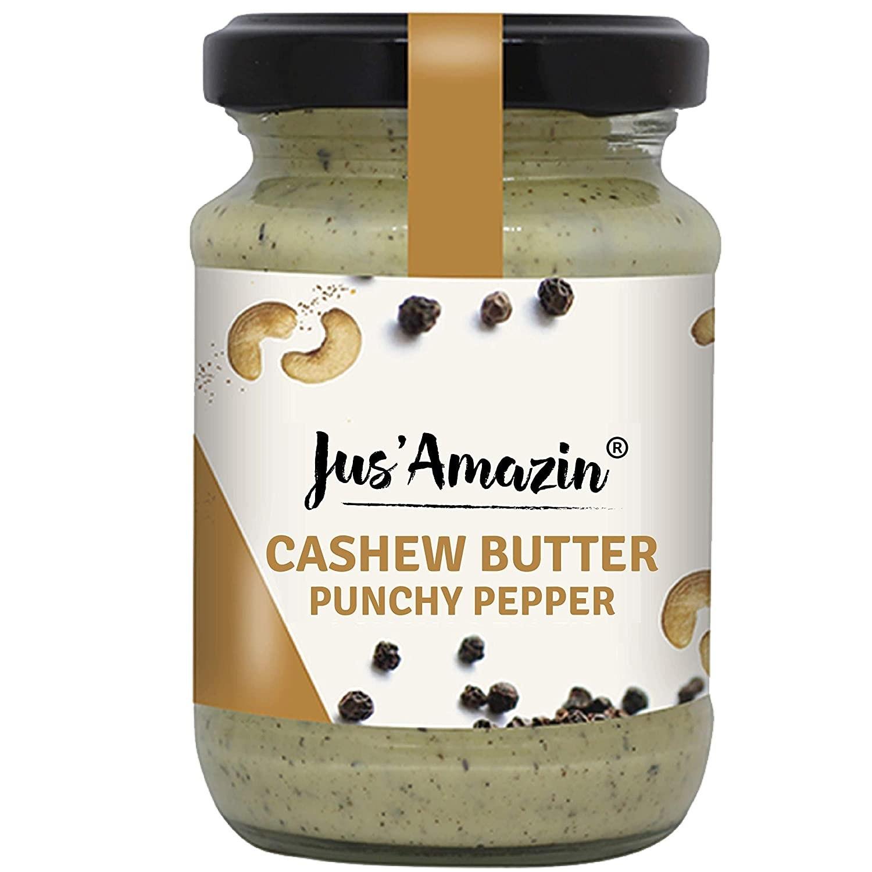 Jar of the peppery cashew butter