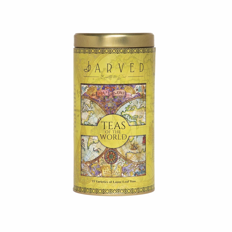 Jar of the teas of the world