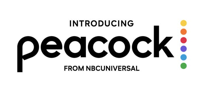 The Peacock TV logo, from NBCUniversal