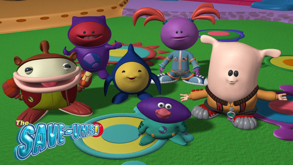Cute cartoon animals in super hero suits preparing to save the world