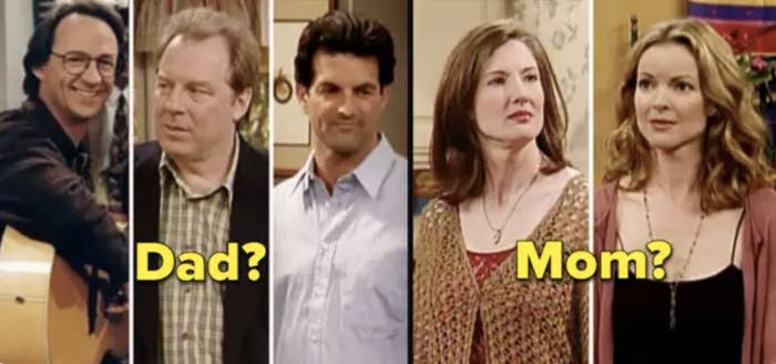All the actors who played Topanga's parents