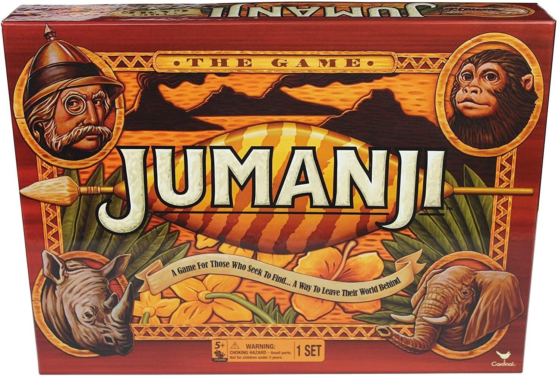 Box art for Jumanji