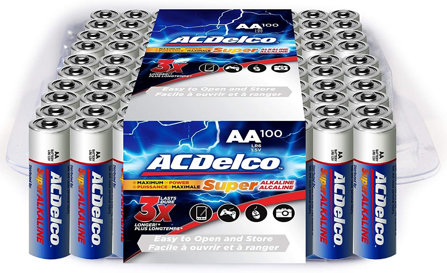 A pack of batteries