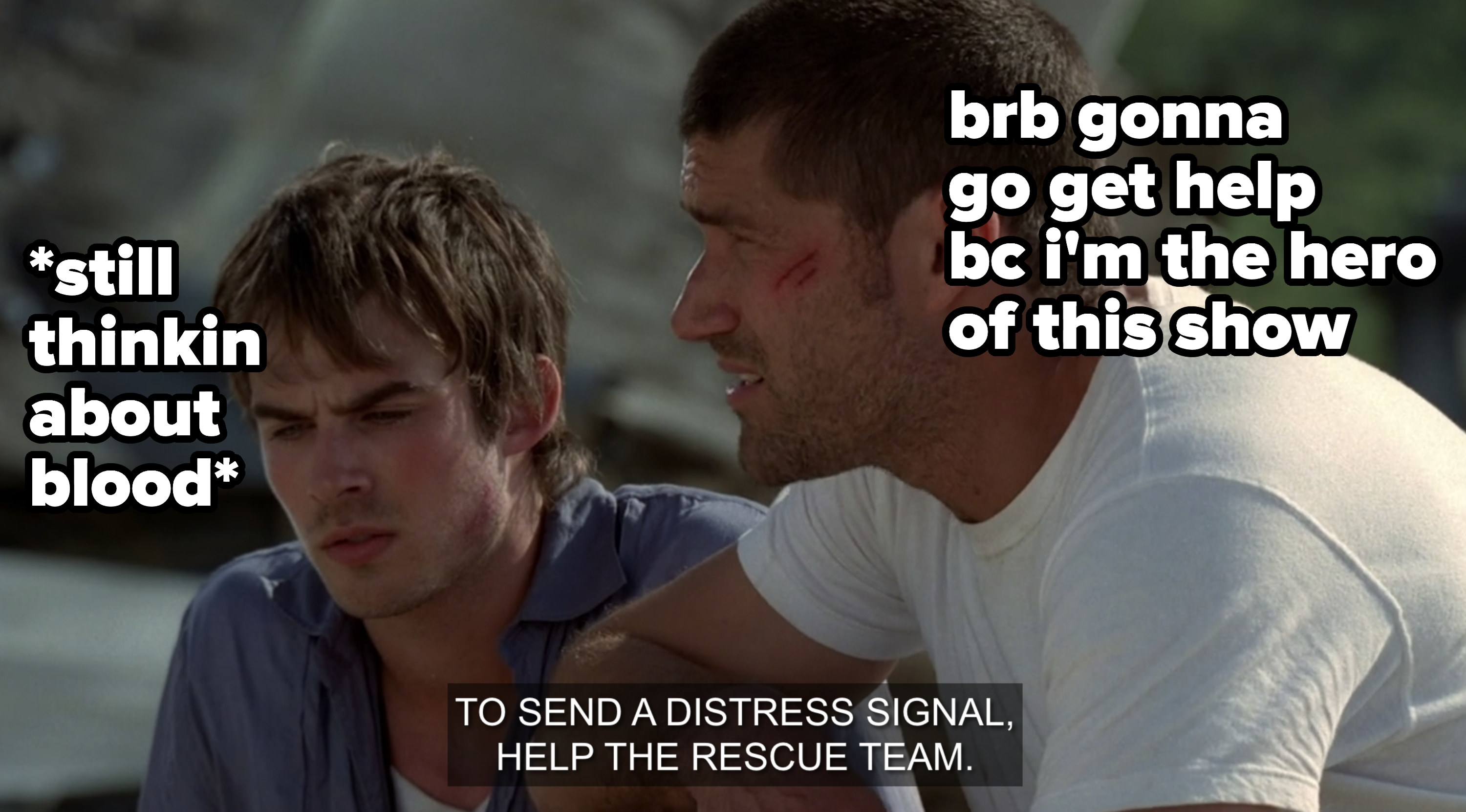 Boone and Jack talking