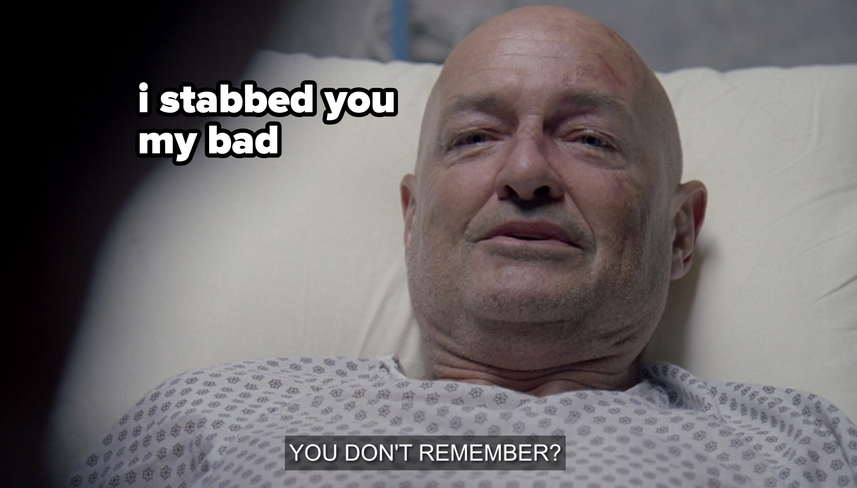 John Locke in the hospital