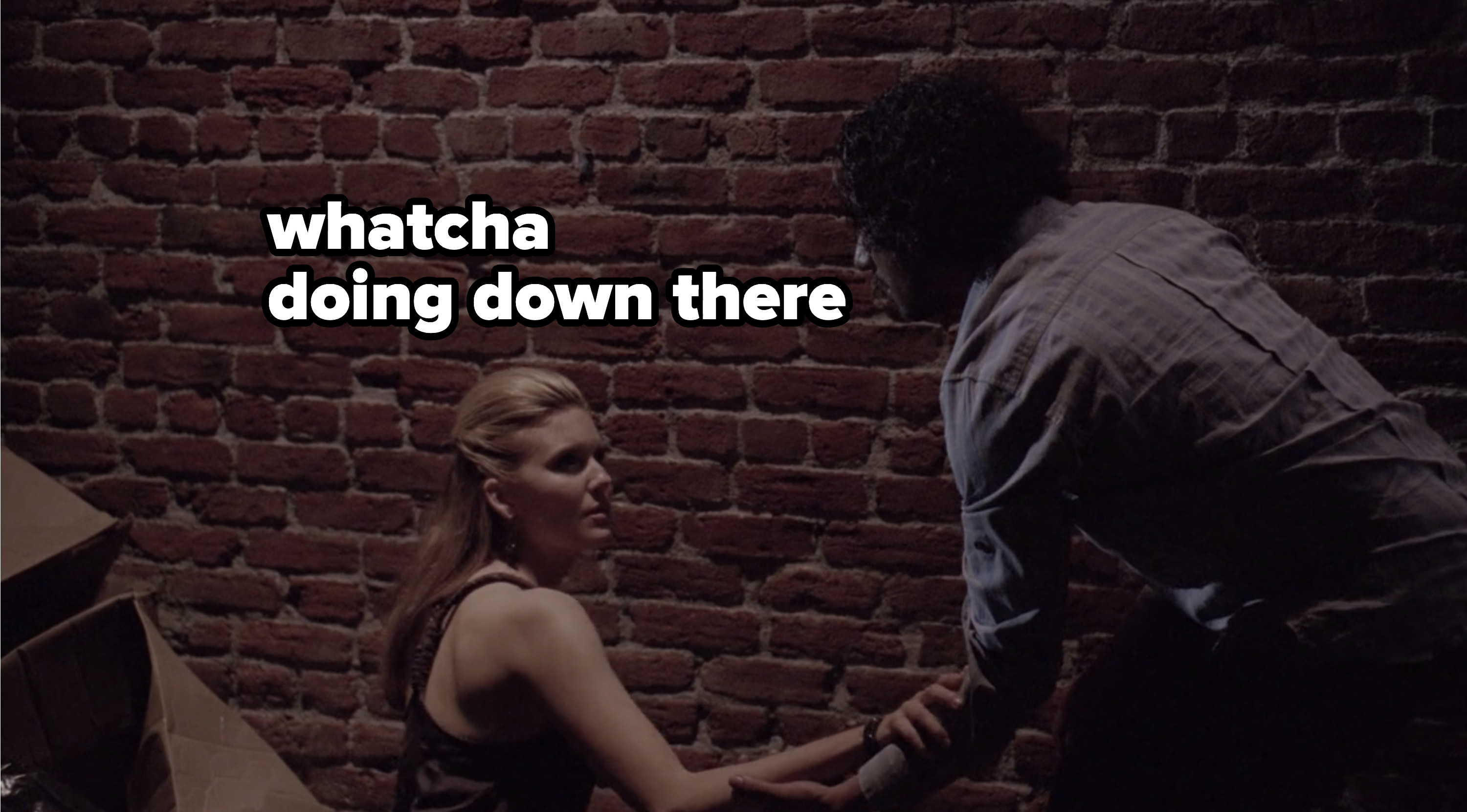 Sayid and Shannon reunited
