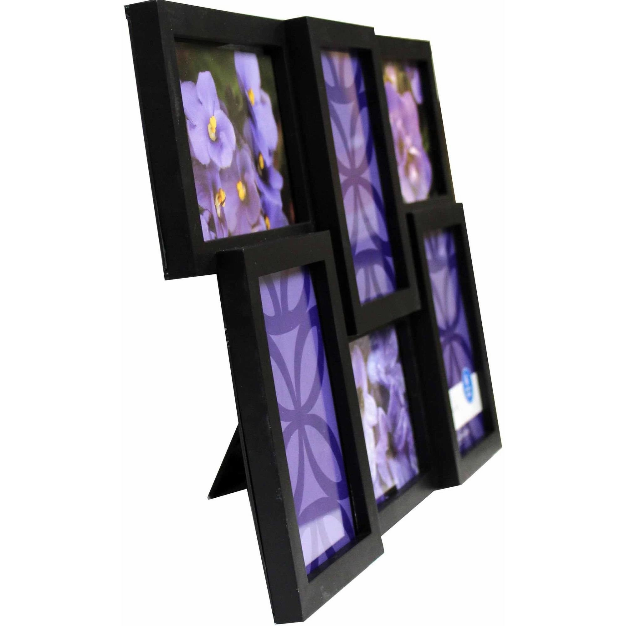 the picture frame which holds 6 individual photos